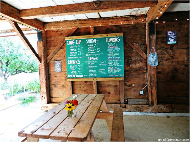 Heladería de la Applecrest Farm: Precios y Sabores