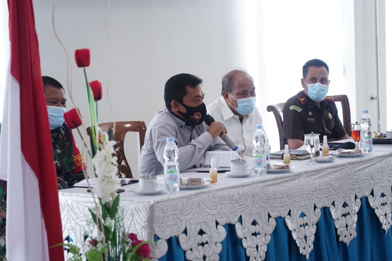 Walikota Tebingtinggi Memimpin Rapat Koordinasi Untuk Mengantisipasi Lonjakan Kasus Covid-19