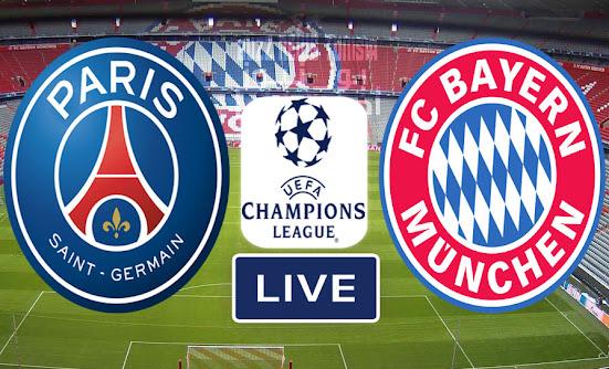 Match Bayern vs Psg Live Ucl