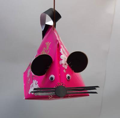 Lampion Tikus Dari Kertas Angpao