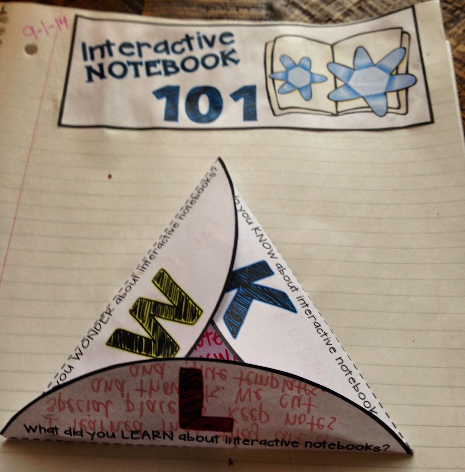 Interactive Notebook 101