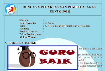 Rpp Kelas 2 Tema 8 Subtema 1 Kurikulum 2013 Revisi 2018