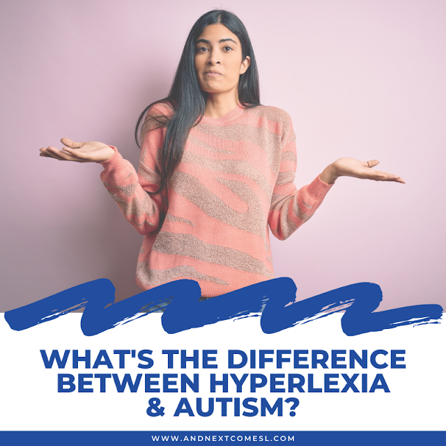 Hyperlexia and autism: what's the difference?