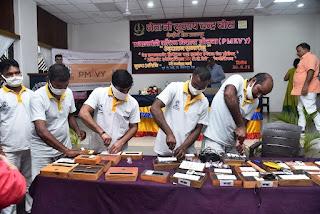 केन्द्रीय जेल में कृष्ण जन्माष्टमी के साथ-साथ बंदियों के लिये  स्वरोजगार हेतु स्पेशल प्रोजेक्ट की शुरूआत