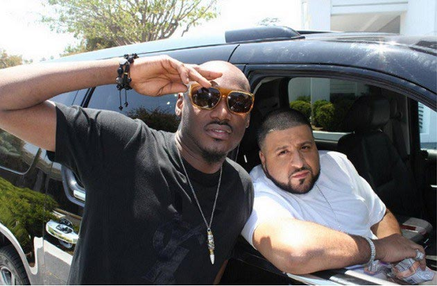 2face Idibia spotted with DJ Khaled in LA