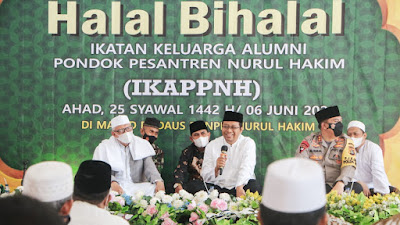 Gubernur NTB Apresiasi Kiprah Alumni Ponpes Nurul Hakim