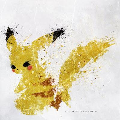 Pikachu pintura