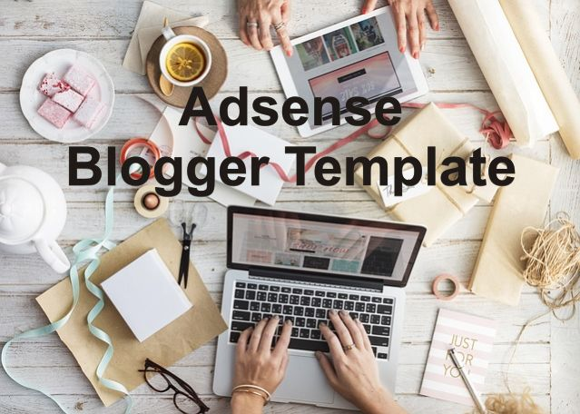 Adsense Ready Blogger Template