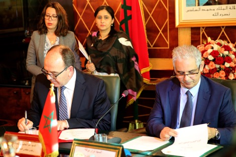 """اتفاقية تضبط تعاون """"المجلس الاقتصادي"""" والغرفة البرلمانية الثانية"""