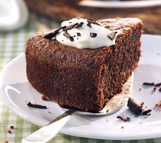 Chocolate cake with hazelnuts and espresso recipe