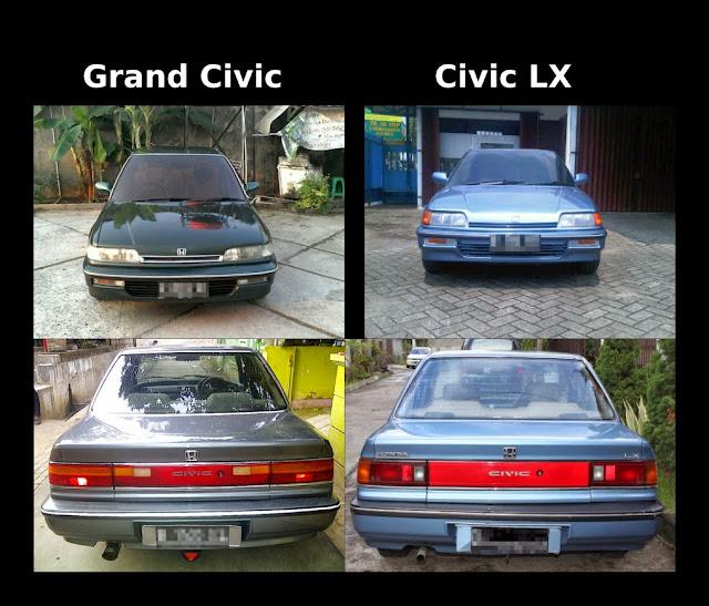 Perbedaan Grand Civic LX