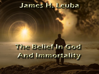 The Belief In God And Immortality