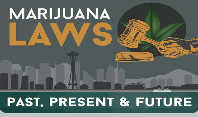 Marijuana Laws Past, Present & Future #infographic