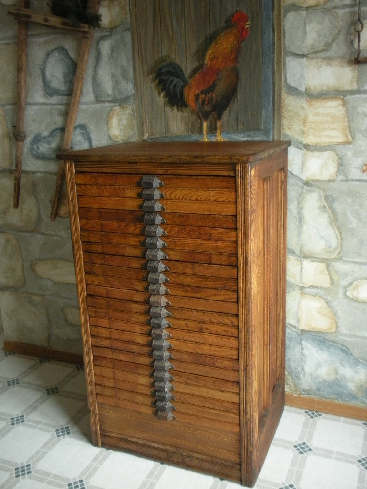 Raevn S Nest Printers Cabinet Now Holds Jewelry Making