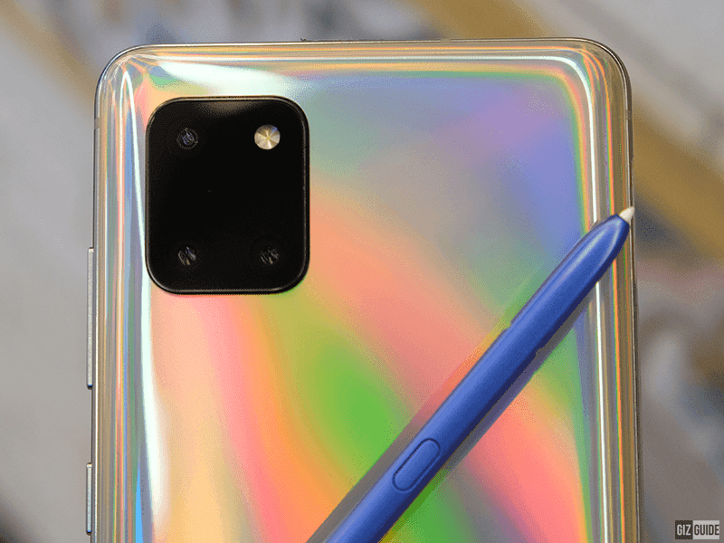 Note10 Lite triple-cam