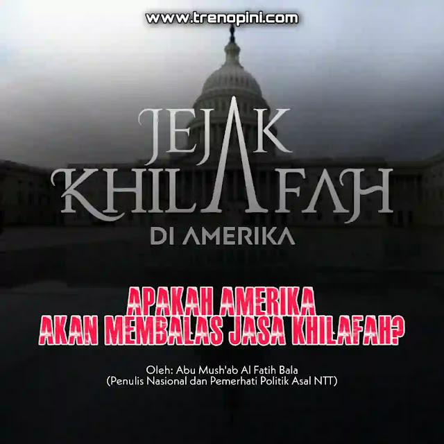 Jika melihat sejarahnya AS banyak diselamatkan oleh negara superpower Islam yakni Khilafah.