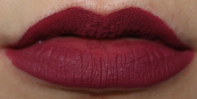 stila liquid lipstick aria swatch