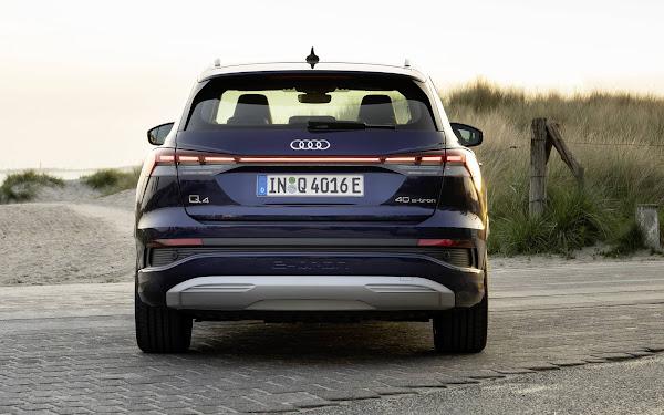 Audi Q4 e-tron - traseira