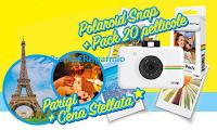 Logo Vivident ''Vivi al 100% e Vinci'' : in palio 78 Polaroid Snap + pack 20 fogli per stampe e viaggio a Parigi