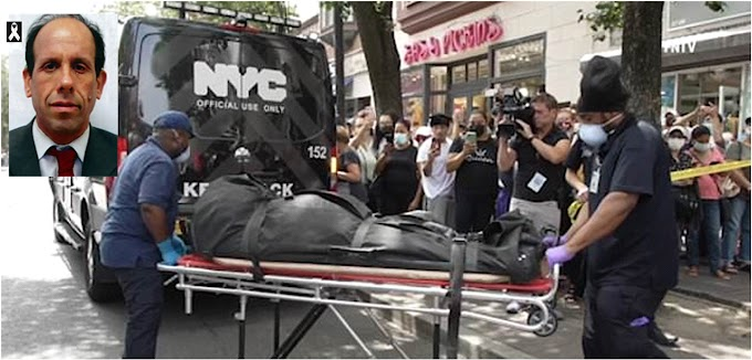 Hispano asesinó de 20 puñaladas un abogado en Queens airado por  ejecución hipotecaria de su casa
