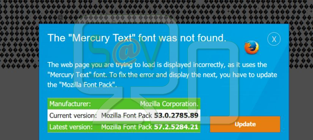 The Mercury Text font was not found