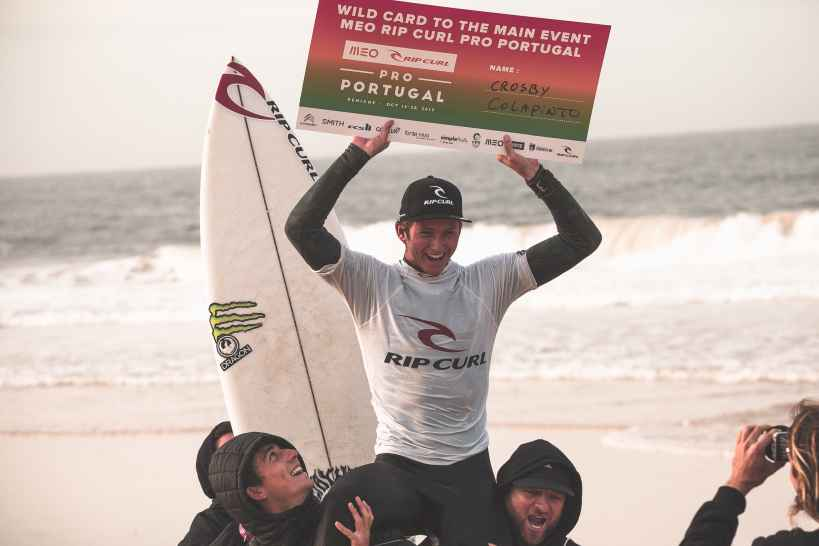 Crosby Colapinto Wins Trials for the 2019 MEO Rip Curl Pro Portugal