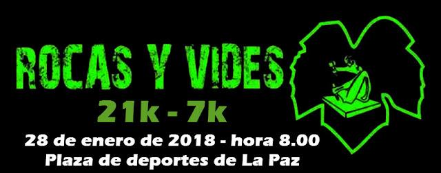 21k y 7k Media maratón Rocas y Vides (La Paz - Canelones, 28/ene/2018)