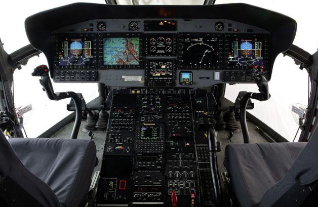 Airbus H225 cockpit
