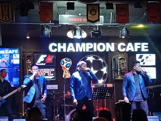 Elekta Trio Guncang Panggung Champion Cafe
