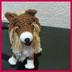 COLLIE AMIGURUMI
