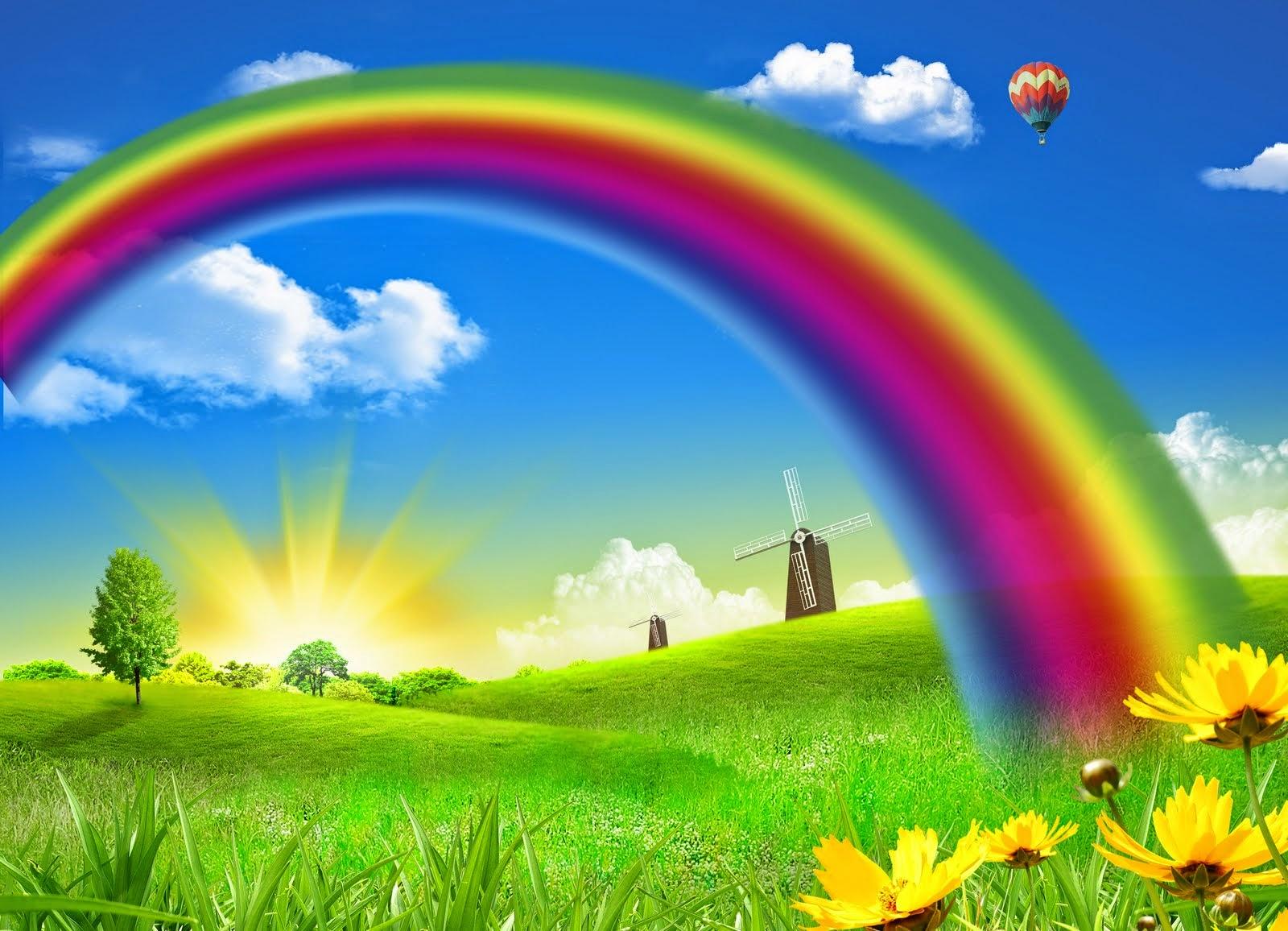 El arco iris… La magia del color y su reflejo en nosotros ...