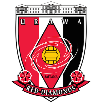 Logo Klub Sepakbola Urawa Red Diamonds PNG