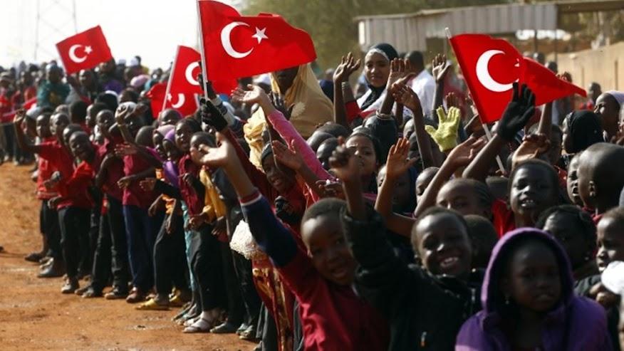 Η μεθοδική διείσδυση της Τουρκίας στην Αφρική