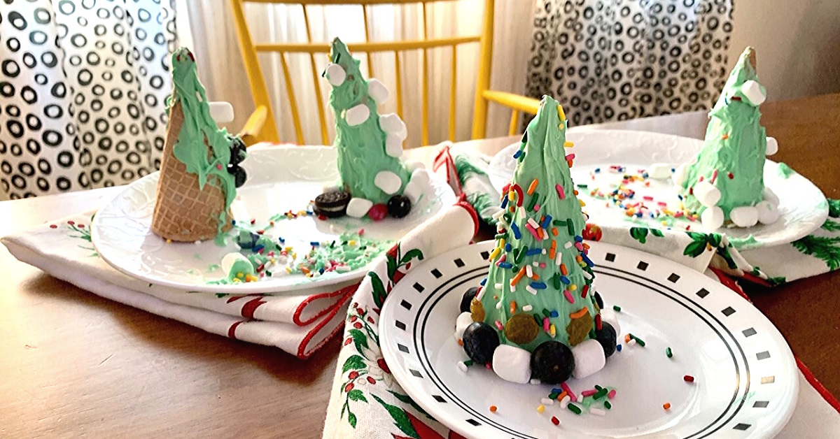 Looking for an easier way to make gingerbread houses? Try this method and sit back and relax.