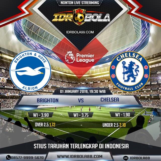 IDRBOLA - Prediksi Bola Brighton vs Chelsea 1 Januari 2020