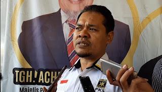 Ketua DPD PKS Kota Mataram, Ahmad Jafri