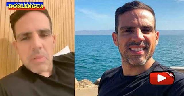 Luis Olavarrieta salió positivo y no pudo regresar de España