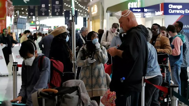 After Trump coronavirus order Americans who are in Europe rush to get back