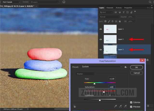Cara Mengganti (Salah Satu) Warna Objek Foto di Photoshop CS/CC