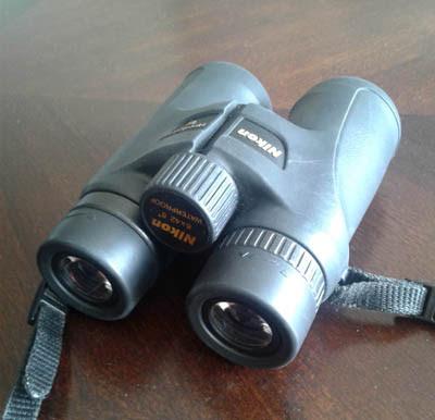 Photo of binoculars