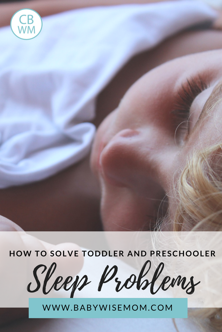 How to Solve Sleep Problems for Toddlers and Preschoolers. Two simple ways to get your child taking great naps.