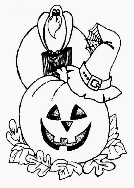 Halloween Coloring Pages To Print  Coloring Pages Gallery