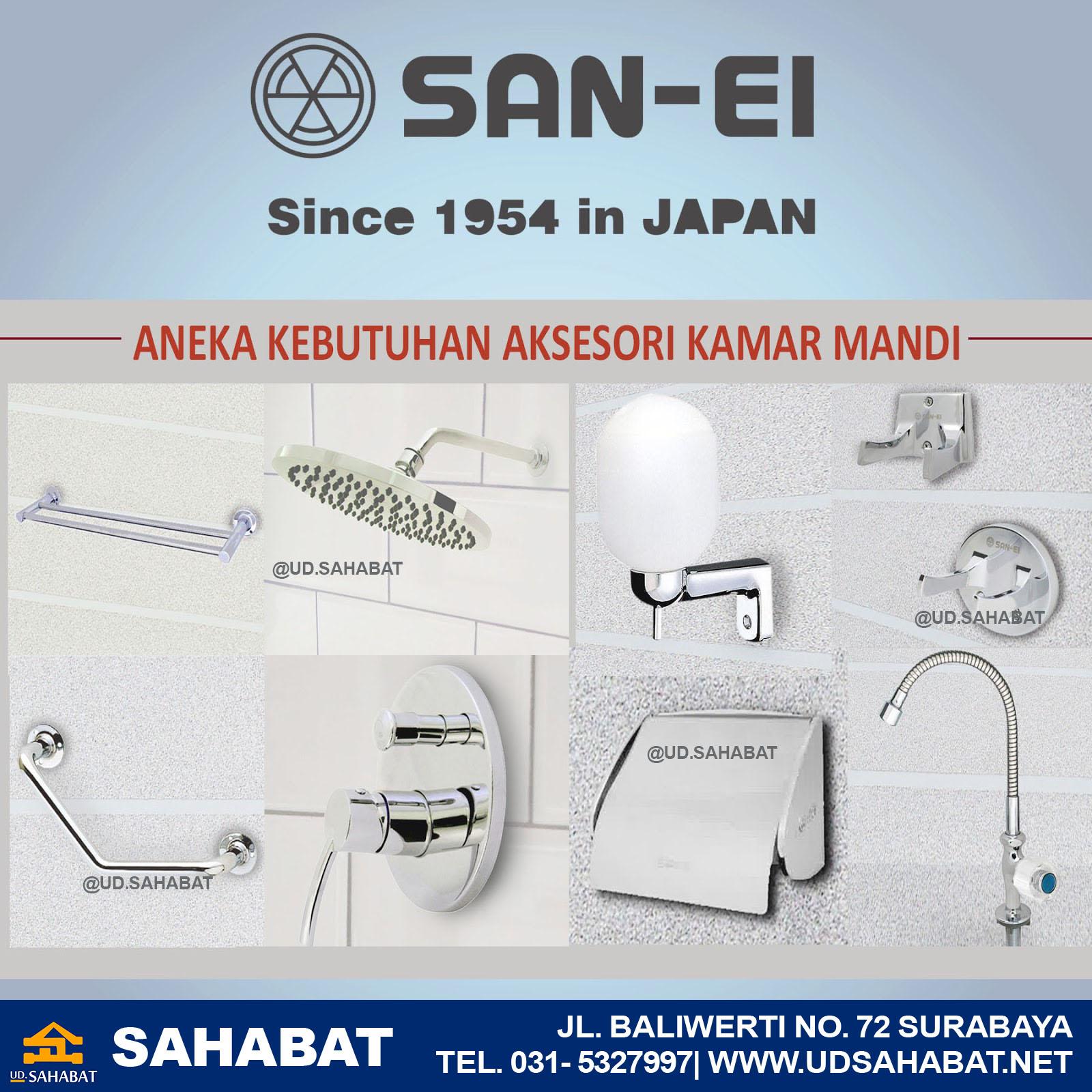 jual kran air merk San-Ei Surabaya