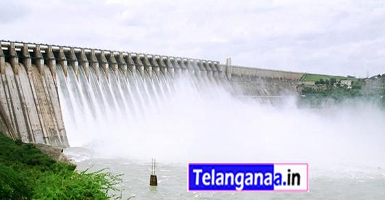Nagarjuna Sagar Dam in Telangana