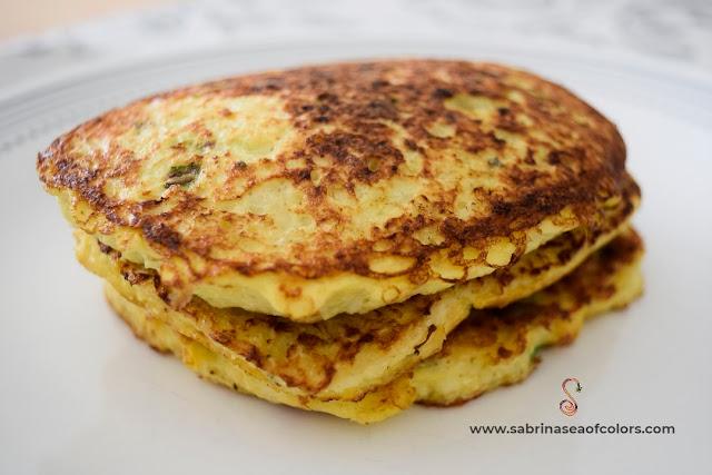 hash browns de coliflor para desayunar