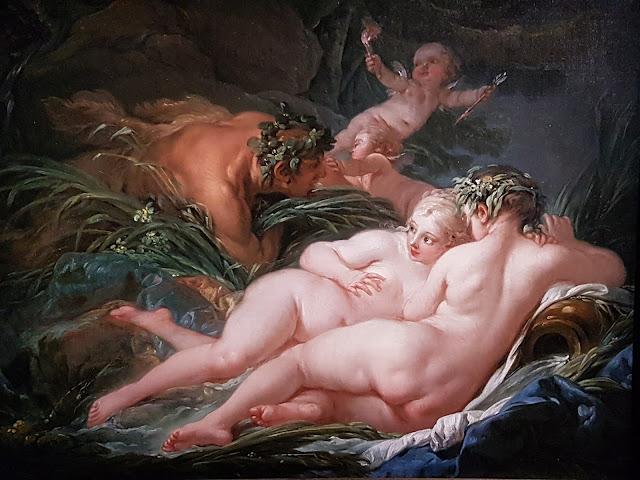 Pan et Syrinx - François Boucher 1759 - National Gallery - Londres