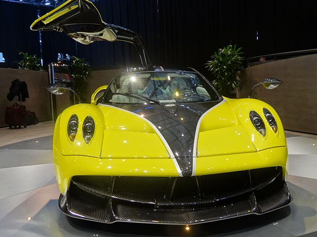 New Huayra Pacchetto Tempesta It Features New Wheels And Aero