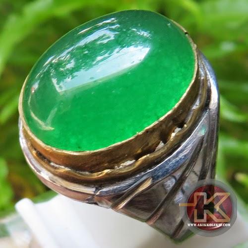 Cincin Batu Akik Giok Jade Batu Permata Asli Batu