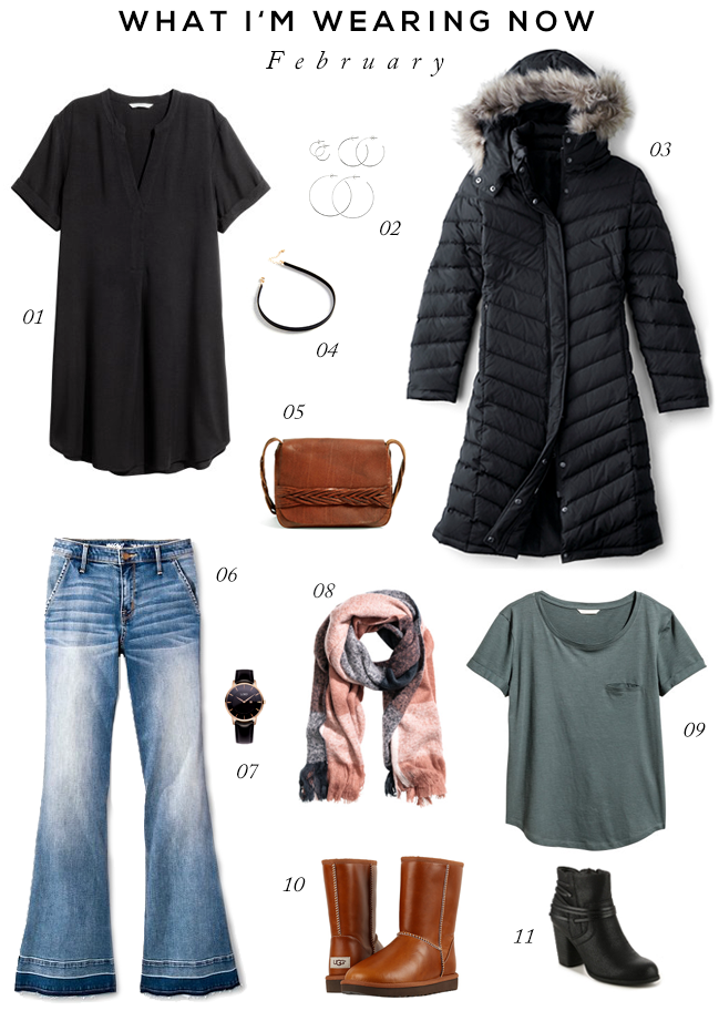Late Winter/Early Spring Wardrobe