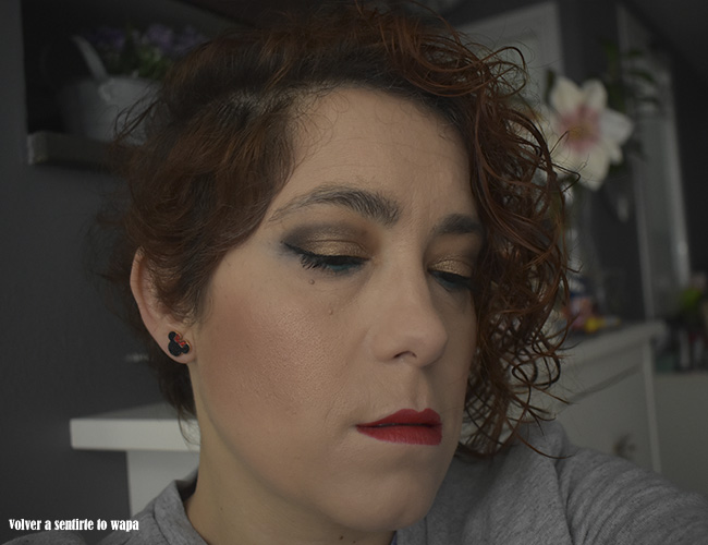 Maquillaje reutilizando la paleta The Nudes de Maybelline